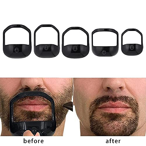 Beard shaving template _image4