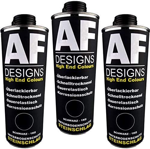 Alex Flittner Designs Unterbodenschutz schwarz 3x1kg überlackierbar Steinschlagschutz