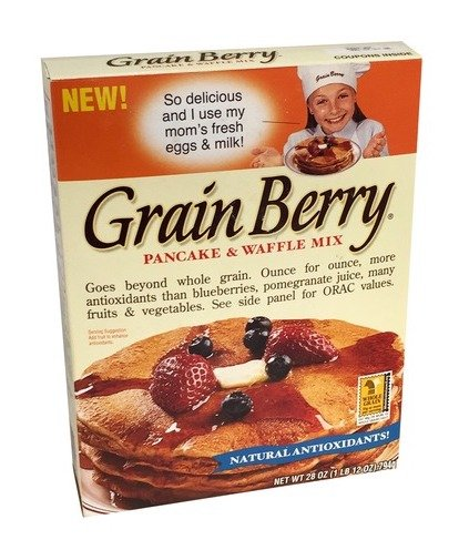 Grain Berry Pancake and Waffle Mix, 28-Ounce