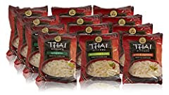 GLUTEN-FREE: Made with gluten-free ingredients, our Thai Kitchen Instant Rice Noodle Soup is sure to satisfy your craving for an Asian noodle soup. QUICK & EASY: Just add water and microwave for 3 minutes for a quick meal at home or on the go. Our gl...
