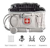 SUNSHOP Cintura Posteriore di decompressione,Cintura di Supporto Cintura Posteriore Protettore di trazione per Aria spinale Cintura Gonfiabile Fisiologia decompressione Supporto Lombare
