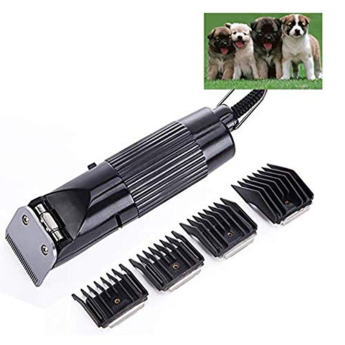 YWT Professionele dierentondeuse met geluidsarme high-performance draad Cat Dog Beauty tondeuse met 2 soorten afneembare messen