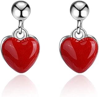 cca0733aca69 Amazon.es: corazon rojo: Joyería