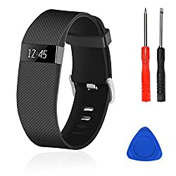 commercial Replacing the Wizvv compatible straps for the Fitbit Charge HR, Charge HR 1, and Fitness Metal Buckle … costco fitbit hr
