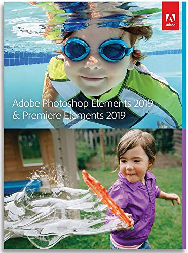 Photoshop Elements 2019 & Premiere Elements 2019 | Standard - Anglais | Mac | Online Code