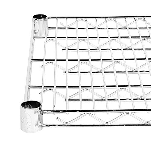 6/Pack! NSF Stainless Steel Wire Shelf 24″ x 48″. Storage shelf. Shelving unit. Garage storage cabinets. Shelving items and storage. Food storage shelf. Storage rack. Kitchen cabinets. Bakers racks