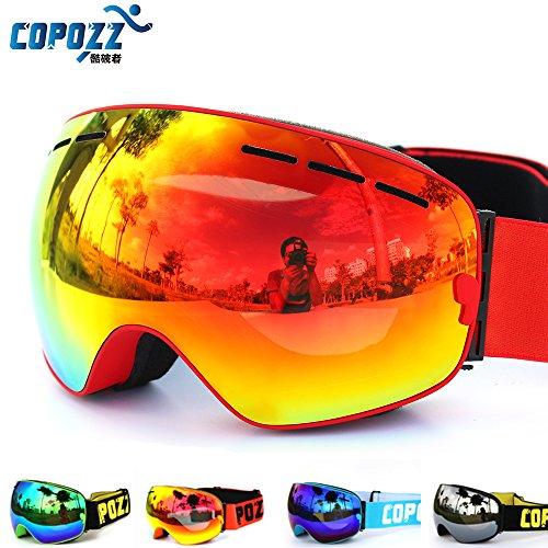 Brand ski Goggles dubbele laag UV400 anti-fog groot skimasker glazen skiing heren snowboard goggles GOG-201 Pro