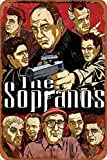 Cimily The Sopranos Vintage Blechschilder Zinn Poster Retro