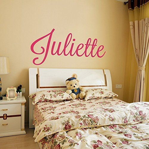 Custom Name Vinyl Wall Decal Sticker Art for Girls