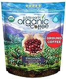 2LB Subtle Earth Organic Coffee - Medium-Dark Roast - Ground Coffee - Organic Arabica Coffee - (2 lb) Bag