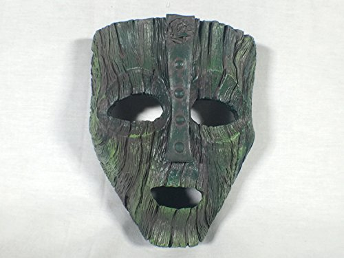 Loki Mask, The Mask, Jim Carrey, Cameron Diaz, With Clear Easel, Limited Edition