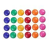 Magnete Haftmagnete für Whiteboard, Kühlschrank, Magnettafel, Magnetwand, Farblich Sortiert,12 Stück Zufällige Farbe
