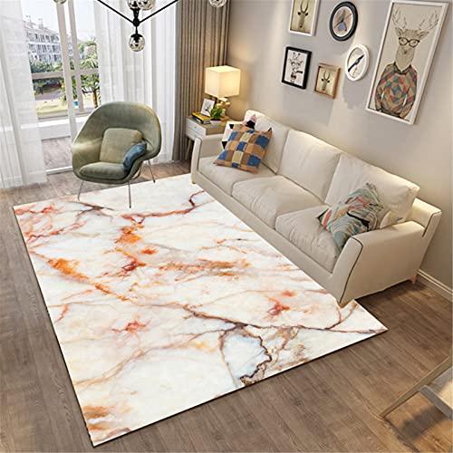 Hogar Sala De Estar Moda Simple Estilo Moderno Rectangular Alfombra Grande Dormitorio Manta De Noche Agradable para La Piel 100x100cm