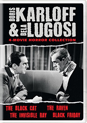 Boris Karloff & Bela Lugosi 4-Movie Horror Collection