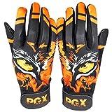 Primal Baseball Eye of The Tiger Baseball Batting Gloves - Small