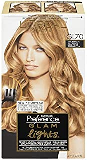 L'Oreal Paris Superior Preference Glam Lights Brush-On Glam Highlights - GL70 Dark Blonde to Light Brown (Pack of 3)