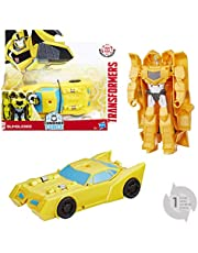 Hasbro 679528 Transformers Rid 1-Step Changers Bumblebee Robot, Groen (Electronic Games)