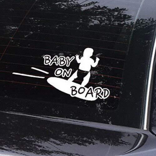 BLOUR Despicable Me Aufkleber Autozubehör Aufkleber Für LadaBaby im Auto lustige Aufkleber