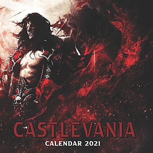 Castlevania Calendar 2021: Official Monthly Calendar 2021-2022 With High Quality Images