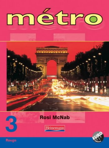 Metro 3 Rouge Pupil Book Euro Edition (Metro for 11-14)