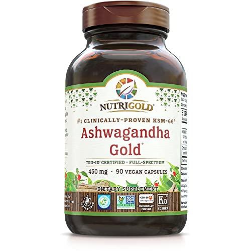 NutriGold Organic Ashwagandha Gold,…