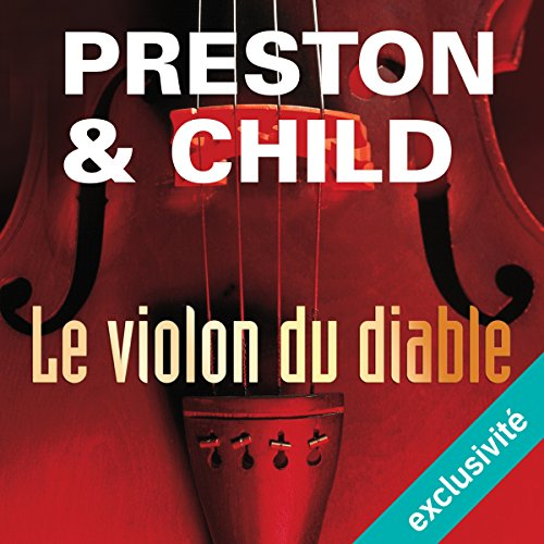 Le violon du diable (Pendergast 5) audiobook cover art