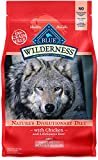 Blue Buffalo Wilderness High Protein, Natural Adult Small Breed Healthy Weight Dry Dog Food, Chicken 4.5-lb