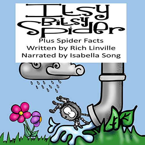 Itsy Bitsy Spider Plus Spider Facts audiobook cover art