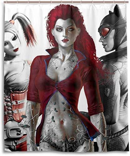51M7WibOLZL Harley Quinn Shower Curtains