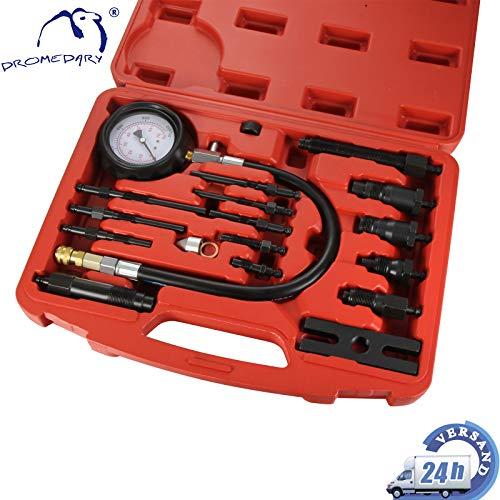 DROMEDARY Kompressionsprüfer Diesel Motor Kompressionstester Kompression Tester Prüfer 0-70 Bar