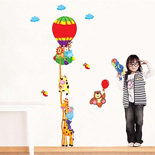 Wall Sticker Tape Measure Growth Chart-Wall Decal-Growth Chart-Height Measurement Sticker-Children/'s Room Decor-Kid/'s Wall Sticker
