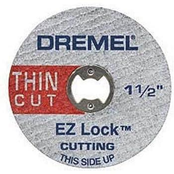 """Dremel EZ456 1-1/2"""" EZ Lock Cutoff Wheels 5 Count"""