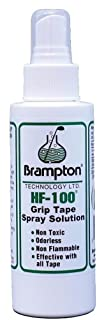 Brampton HF-100 Golf Grip Tape Solvent, Non-Toxic and Non-Flammable Spray Solution
