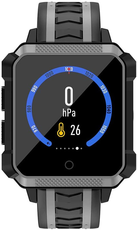 JieGREAT  Smart Watch Rumungsverkauf  , H7 4G Smart Watch 1,54 Zoll Farbdisplay IP68 wasserdicht für Android Phone GPS (Grau)
