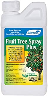 Monterey LG 6184 Fruit Tree Plus for Control of Insects, Diseases & Mites Conc 1pt