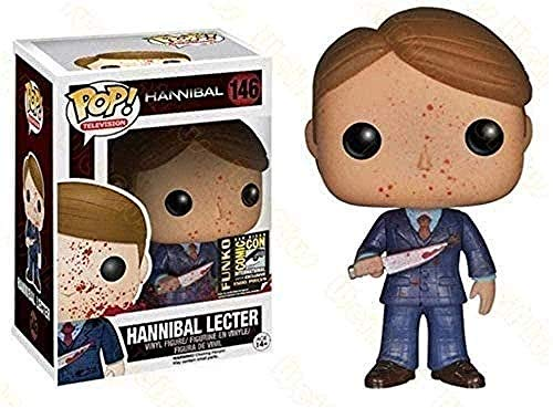 A-Generic Pop Vinilo El Silencio de los corderos # 146 Bloody Hannibal Lecter Pop!