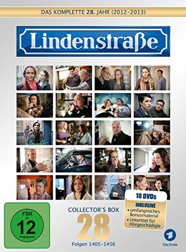 Die Lindenstraße - Das komplette 28. Jahr, Folgen 1405-1456 [Collector's Box Limited Edition] [10 DVDs]