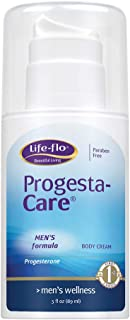 Life-Flo Progesta-Care Mens Formula | Natural Progesterone USP Cream For Optimal Balance | With MSM, Vit E, Grape Seed Ext...