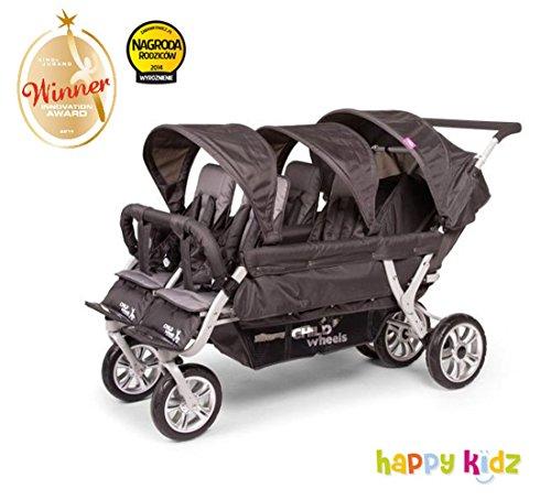 Childwheels zesslingwagen voor dagmoeders/kerststal