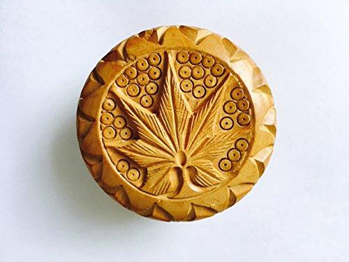 Herb Grinder Classic Tableware Made From Teak Wood.