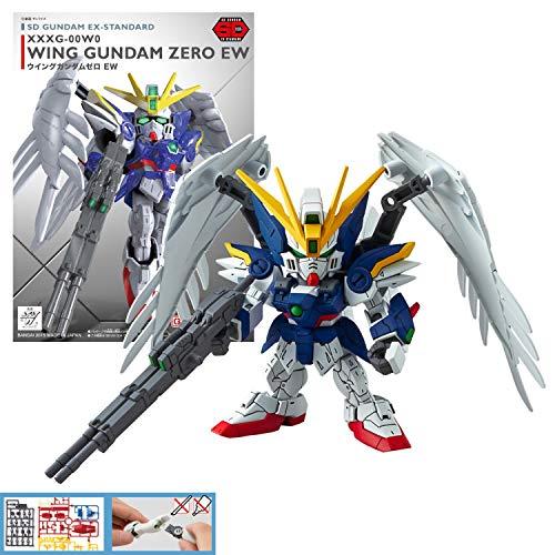 Bandai MK57600/5057600 Gunpla Gundam SD Gundam EX-Standard 004 Wing Gundam Zero (EW)