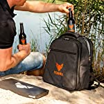 FENNEK Backpack for the Portable Picnic Grill I 4 person picnic backpack with plenty of accessories. 4