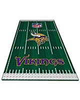 Oyo Sportstoys NFL Minnesota Vikings Sports Fan Bobble Head Toy Figures, Purple/Yellow, One Size
