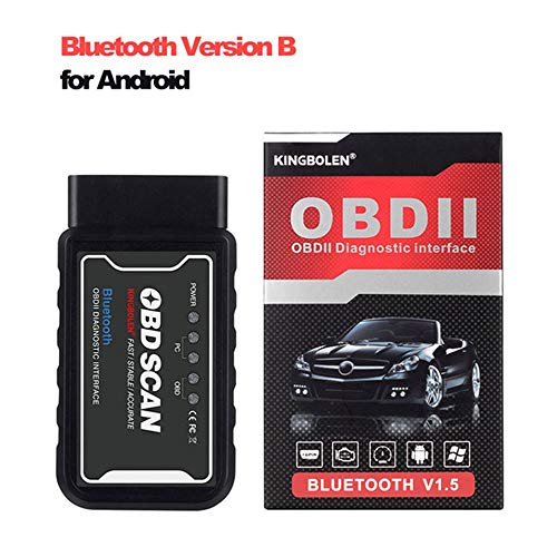 ELM327 Wifi V1.5 OBDII Diagnostic Tool PIC18F25K80 Voor Iphone/Android Obdii 2 OBD2 Scanner Adapter, Vehicle Engine Code Reader Voor Car Scanner,Bluetooth b