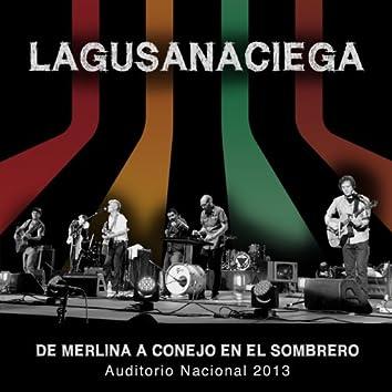 De Merlina a Conejo En El Sombrero, Auditorio Nacional 2013