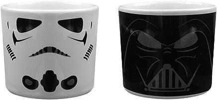Half Moon Bay Star Wars ECP2SW02 14,5 (B) x 8 (H) x 8 (T) cm Darth Vader und Stormtrooper Eierbecher - preisvergleich