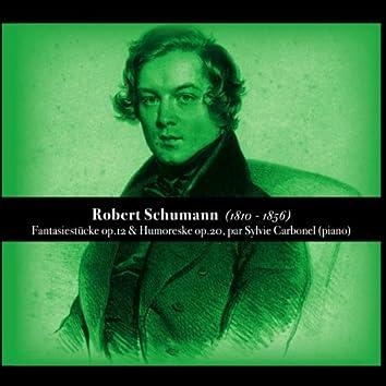 Robert Shumann, Fantasiestücke op.12 & Humoreske op.20
