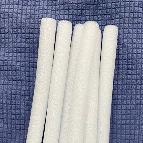 JHuanic - Barras de espuma antideslizantes para fundas de sofá elásticas, fundas de sofá, tiras de costura, varillas de espuma para fundas elásticas (10 unidades, 2,5 cm)