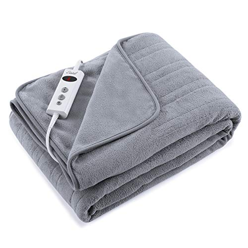 Electric Blanket Heated Throw Fa...
