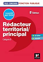 Pass'Concours - Rédacteur territorial/principal - Cat B - Révision et entraînement de René Canfin-Doco